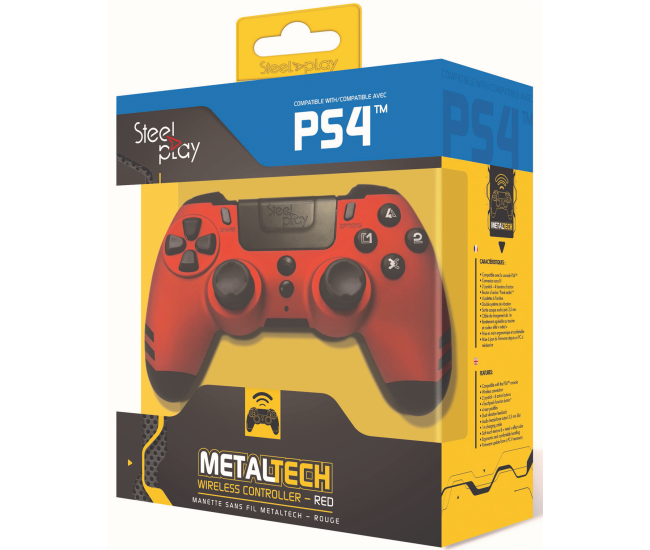 Steelplay MetalTech Wireless Controller - Ruby Red