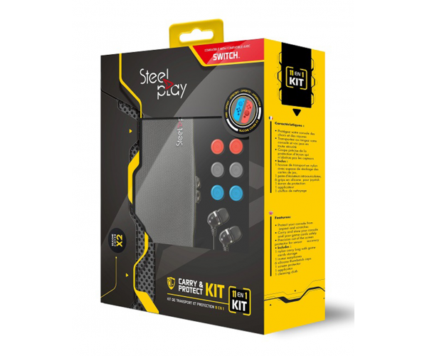 Steelplay 11-in-1 Carry & Protect Kit - Switch