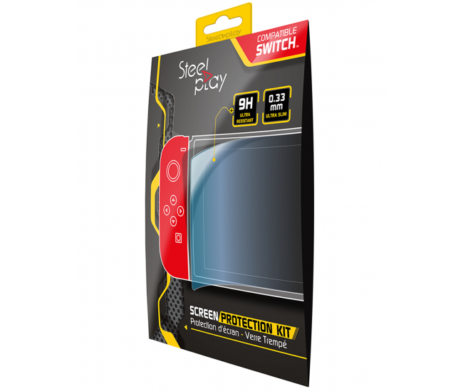 Steelplay Screen Protection Kit 9H Tempered Glass - Switch