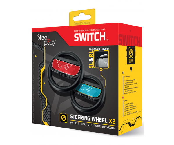 Steelplay Joy-Con Steering Wheel Set - Switch