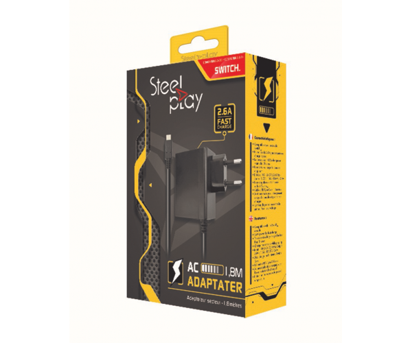Steelplay AC Adapter - Switch