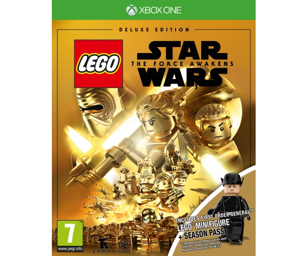 LEGO Star Wars: The Force Awakens + First Order General Minifigure - Xbox One