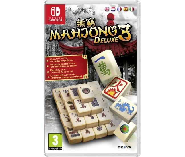 Mahjong Deluxe 3 - Switch