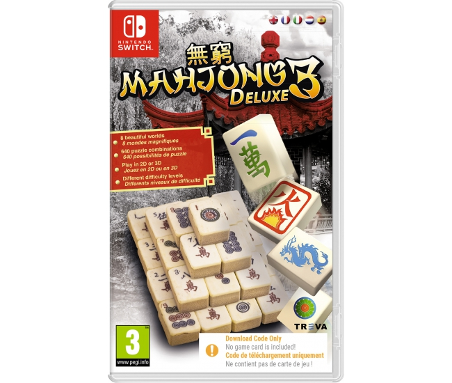 Mahjong Deluxe 3 - Switch (Code in a Box)