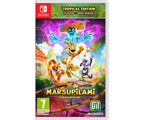 Marsupilami: Hoobadventure Tropical Edition - Switch