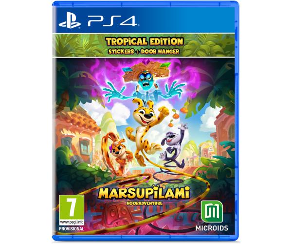 Marsupilami: Hoobadventure Tropical Edition - PS4