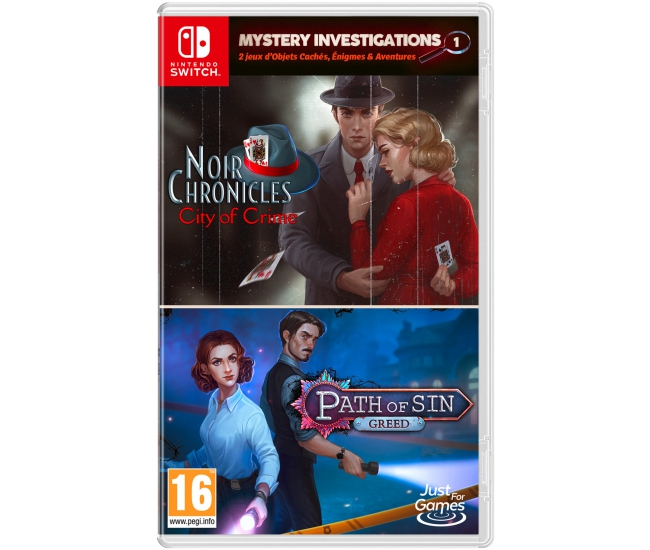 Mystery Investigations Vol. 1 - Switch