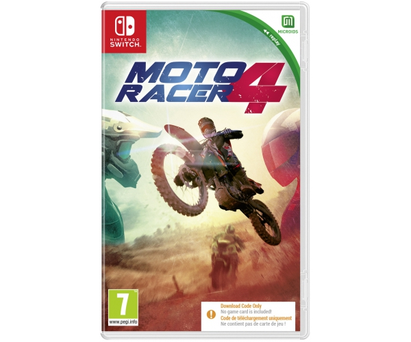 Moto Racer 4 - Switch (Code in a Box)