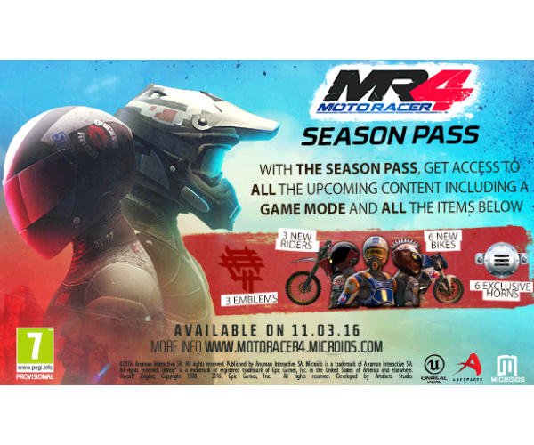 Moto Racer 4 Season Pass PC/MAC