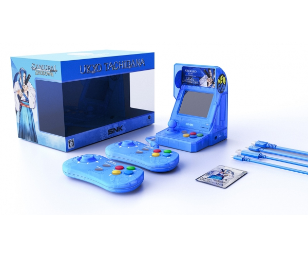 NEOGEO mini Samurai Shodown Limited Edition Bundle - Blue