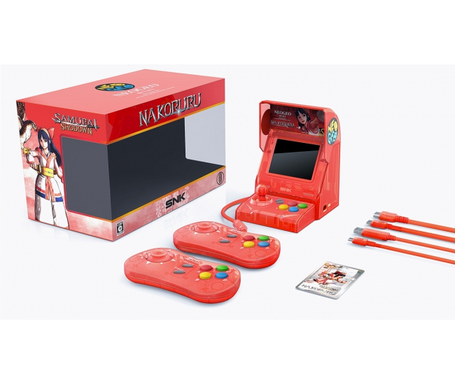 NEOGEO mini Samurai Shodown Limited Edition Bundle - Red