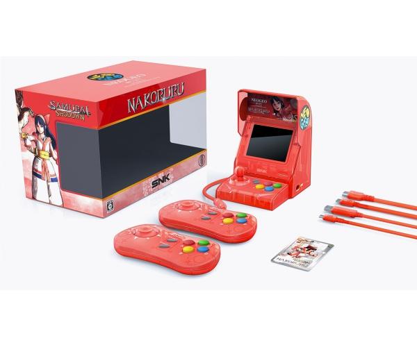 NEOGEO mini Samurai Shodown Limited Edition Bundle - Red
