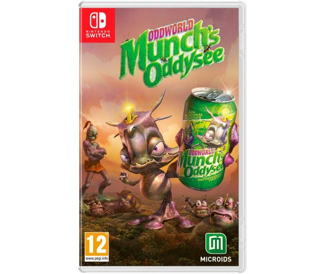 Oddworld: Munch's Oddysee - Switch