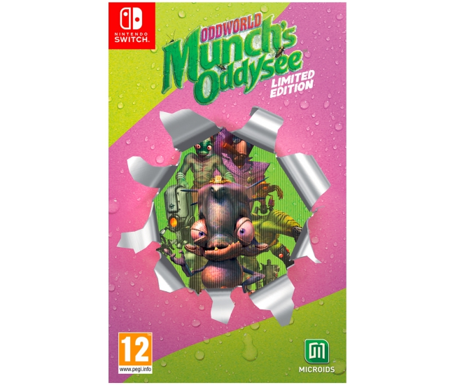 Oddworld: Munch's Oddysee: Limited Edition - Switch