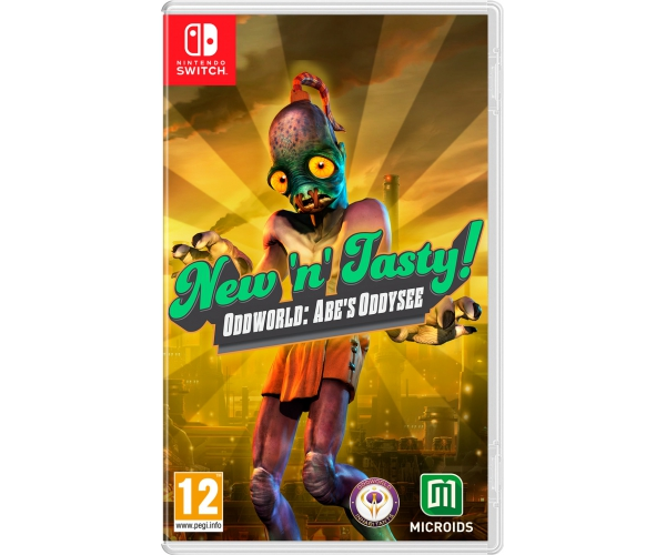 Oddworld: New 'n Tasty - Switch