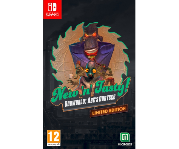 Oddworld: New 'n Tasty: Limited Edition - Switch