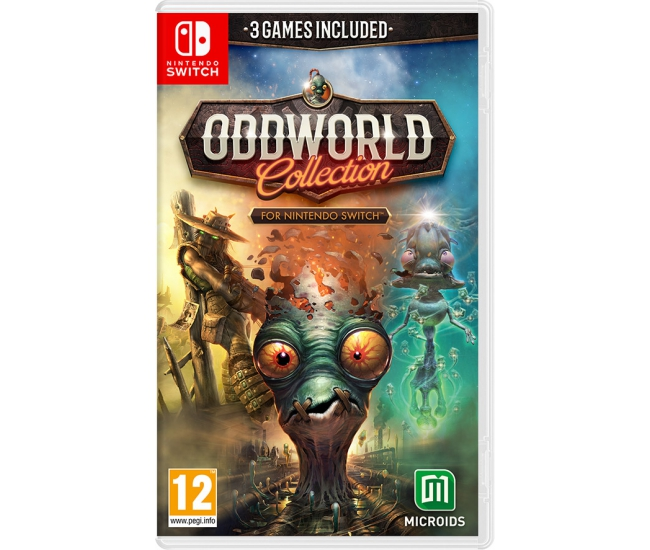 Oddworld: Collection - Switch