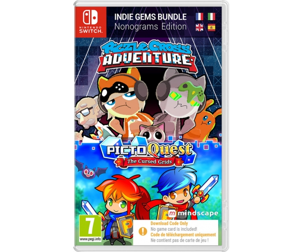 Piczle Cross Adventure + PictoQuest: Puzzle Bundle - Switch (Code in a Box)