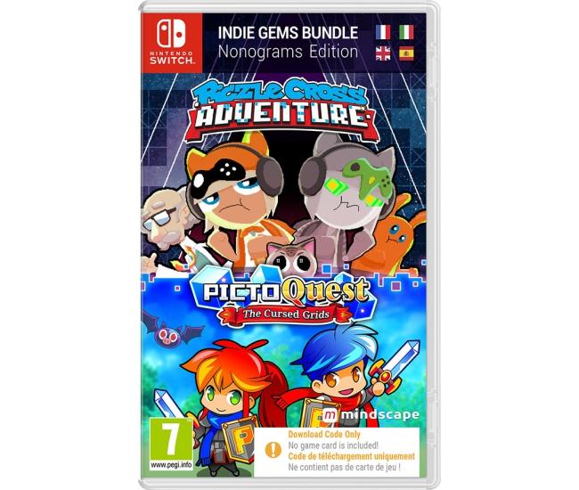 Piczle Cross Adventure + PictoQuest: Puzzle Bundle - Switch (Code in a Box)