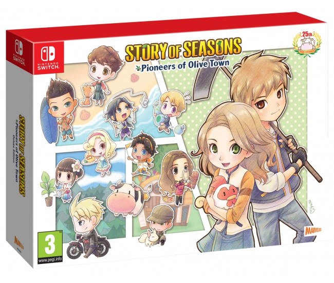 Story of Seasons: Pioneers of Olive Town Deluxe Edition - Switch