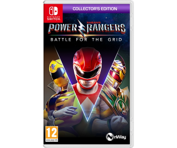 Power Rangers: Battle for the Grid: Collector's Edition - Switch