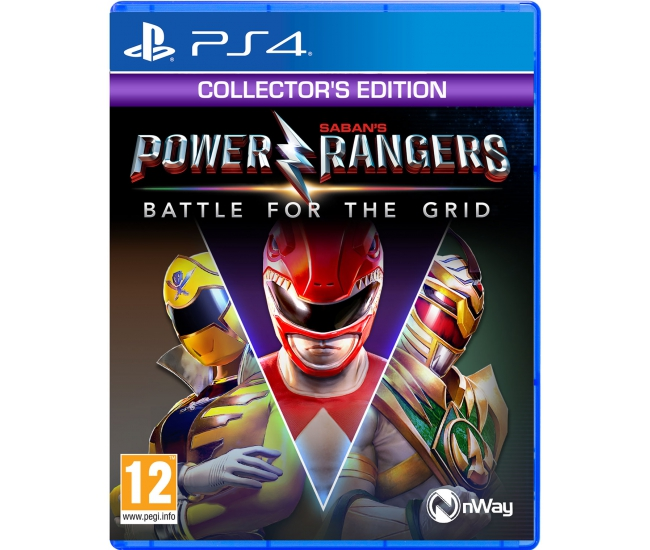Power Rangers: Battle for the Grid: Collector's Edition - PS4