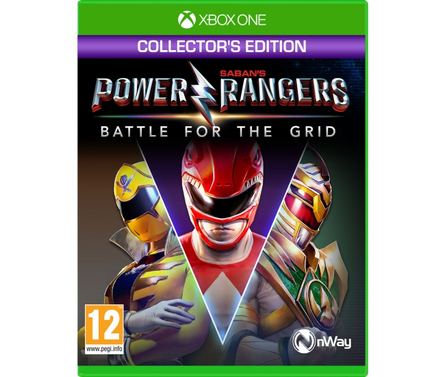 Power Rangers: Battle for the Grid: Collector's Edition - Xbox One