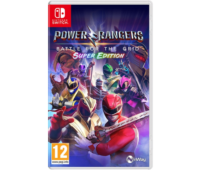 Power Rangers: Battle for the Grid: Super Edition - Switch