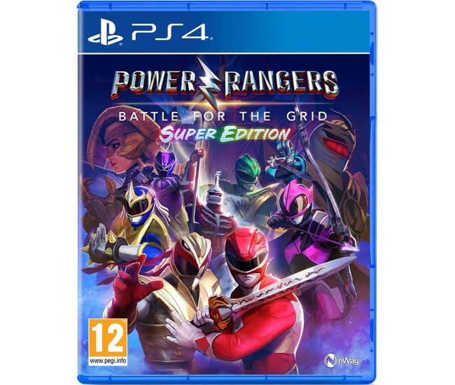 Power Rangers: Battle for the Grid: Super Edition - PS4