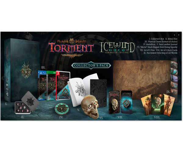 Planescape Torment / Icewind Dale Collector's Pack - Switch