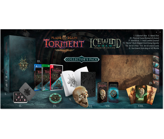 Planescape Torment / Icewind Dale Collector's Pack - PS4