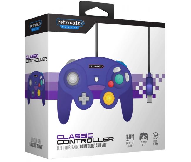 Retro-Bit GameCube Classic Controller - Purple