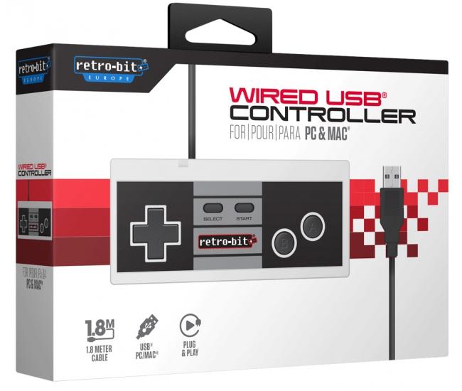 Retro-Bit NES USB Controller