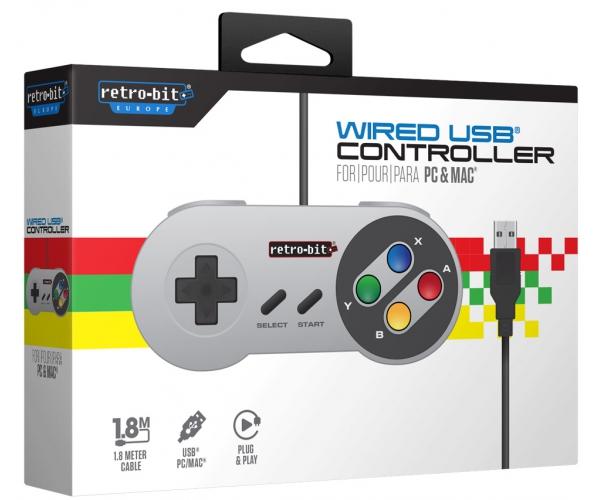Retro-Bit SNES USB Controller