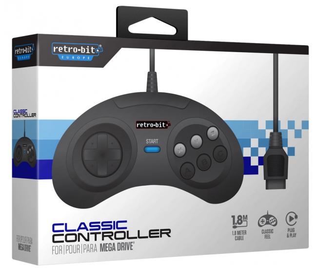 Retro-Bit Mega Drive Controller