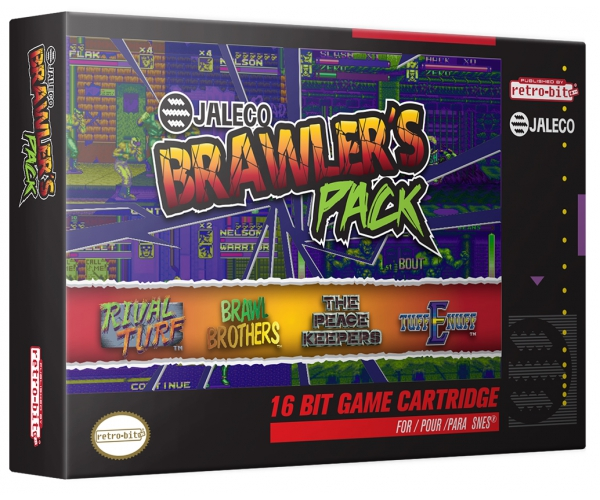 Retro-Bit Jaleco Brawlers Pack SNES