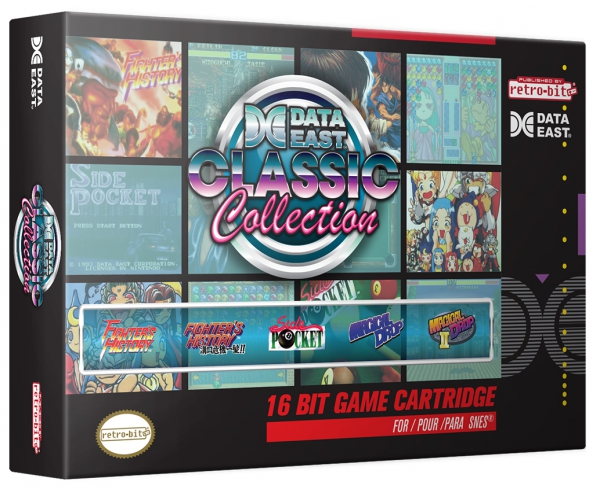 Retro-Bit Data East Classic Collection SNES