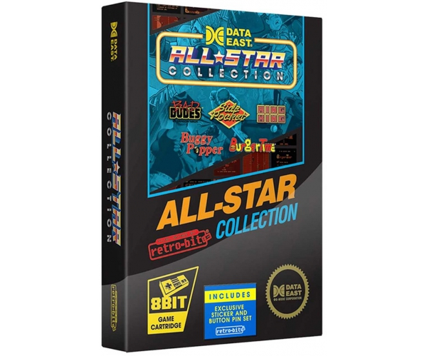Retro-Bit Data East All Star NES