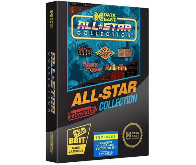 Retro-Bit Data East All Star NES