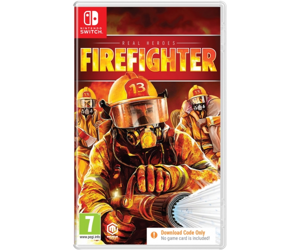 Real Heroes Firefighter - Switch (Code in a Box)