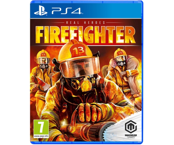 Real Heroes: Firefighter - PS4