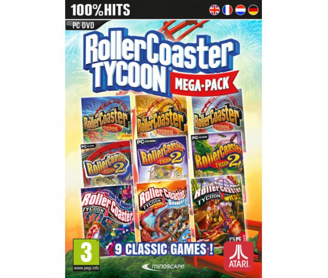 RollerCoaster Tycoon Mega Pack PC