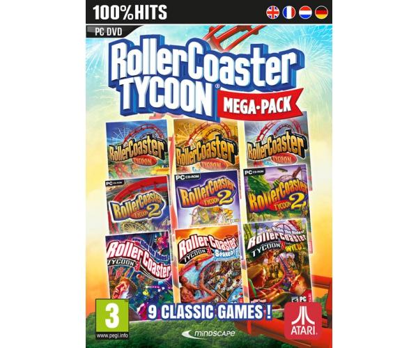 RollerCoaster Tycoon Mega Pack