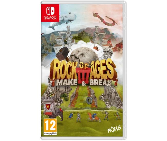 Rock of Ages 3: Make & Break - Switch