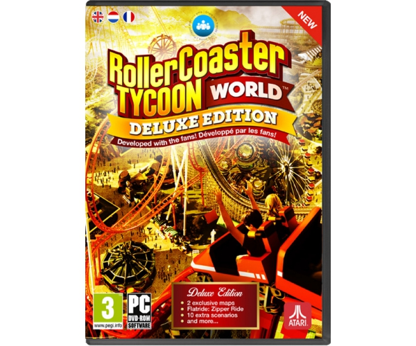 RollerCoaster Tycoon World Deluxe Edition