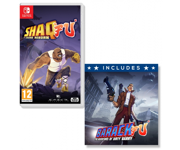Shaq Fu: A Legend Reborn Switch