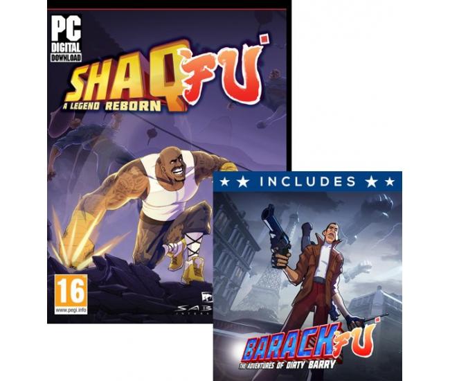 Shaq Fu: A Legend Reborn + Barack Fu