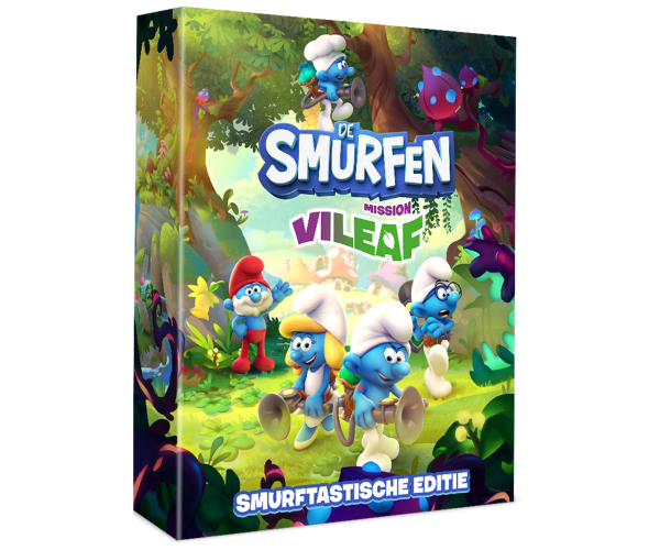 De Smurfen: Mission Vileaf Smurftastische Editie - Switch