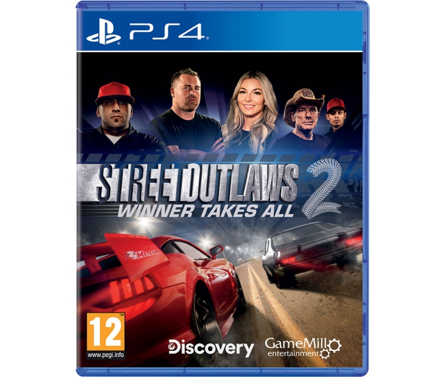 Street Outlaws 2: Winner Takes All - PS4