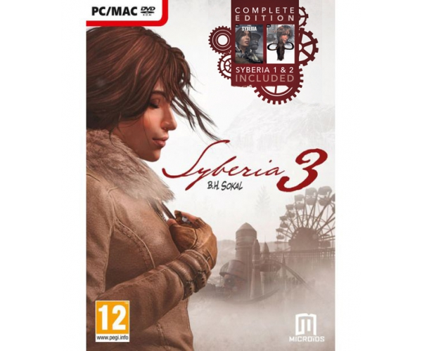 Syberia 3: Complete Edition (1, 2, 3) PC/MAC
